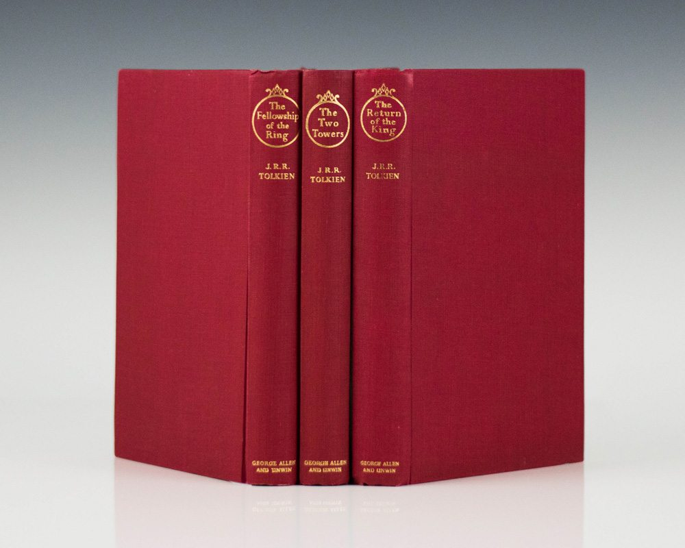 The Lord Of The Rings Tolkien First Editions