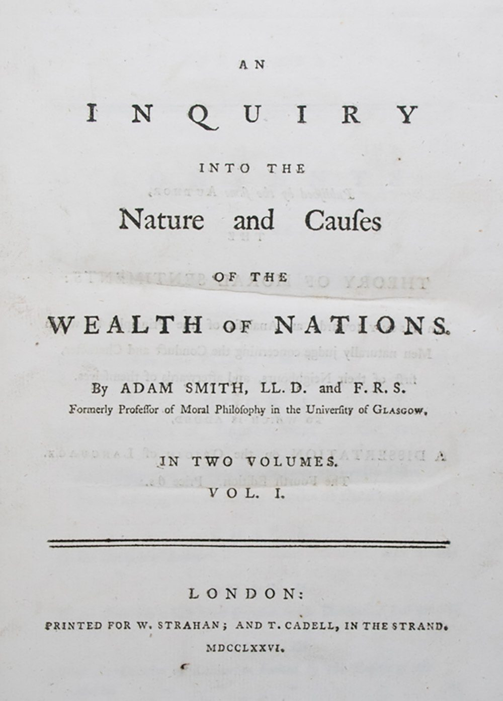 adam smith an inquiry into the He used three topics to classify this title within his own subject categories:   adam smith, an inquiry into the nature and causes of the wealth of nations.
