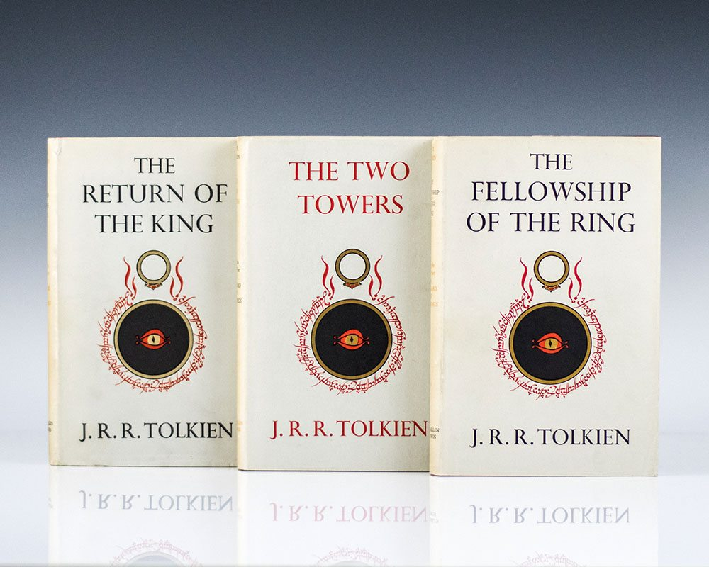 Lord Of The Rings Rare Editions