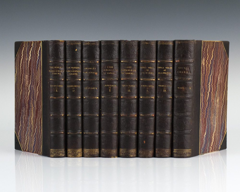 The Chronicles of Barsetshire (8 Volumes Complete).