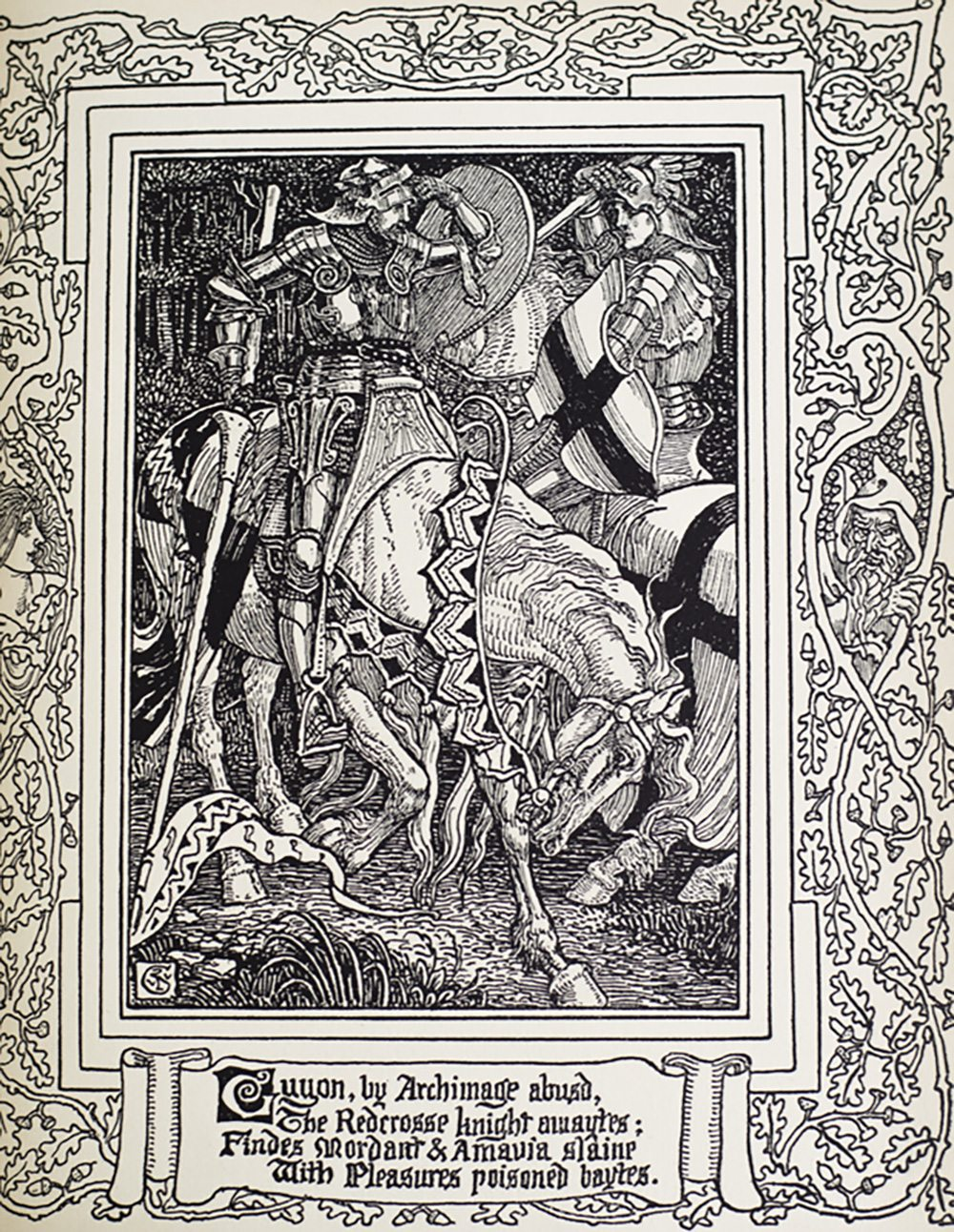 the faerie queene Faerie queene book i canto xii the faerie queene disposed into twelve  books, fashioning xii morall vertues edmund spenser text bibliography.