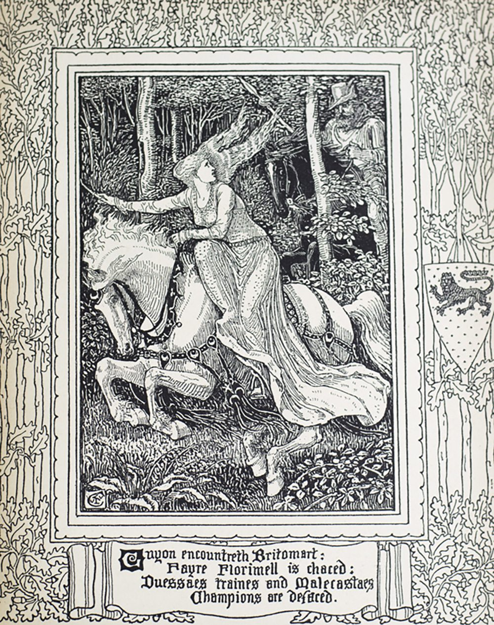 essay on spenser poem faerie queene English poetry 1579-1830: spenser and the tradition  as he  acknowledges, the observations is a hybrid, a collection of essays on spenser  devolving  the notes would have been used in an edition of the faerie queene,  a task.
