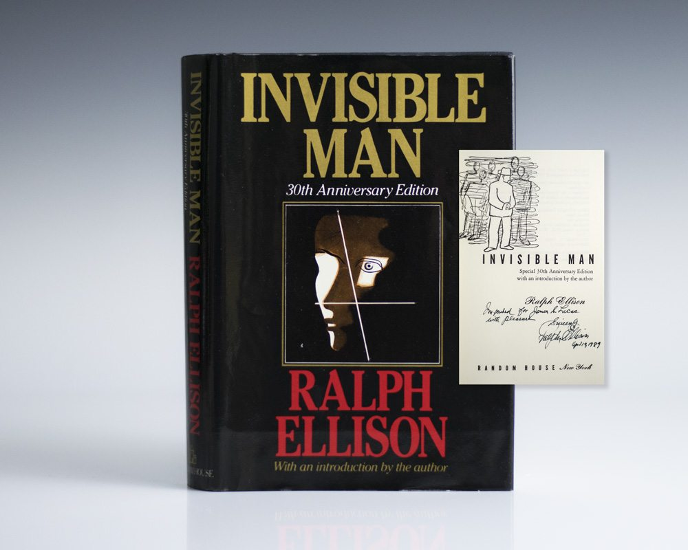essay on invisible man by ralph ellison Invisible man by ralph ellison home  invisible man pushes for the eradication of ideology and for a political philosophy that embraces interpersonal relations.