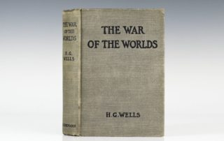 First Edition of The War of the Worlds by H. G. Wells
