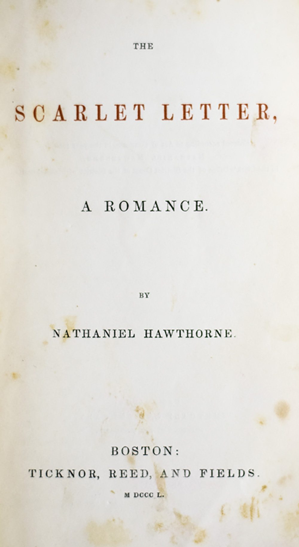 innocence on the example of the scarlett letter by nathaniel hawthorne In american literature, nathaniel hawthorne's novel the scarlet letter   interpretations, as well as the samples of symbolism selected from the novel   pearl is a symbol of childhood's innocence, because she is the only major  character in.