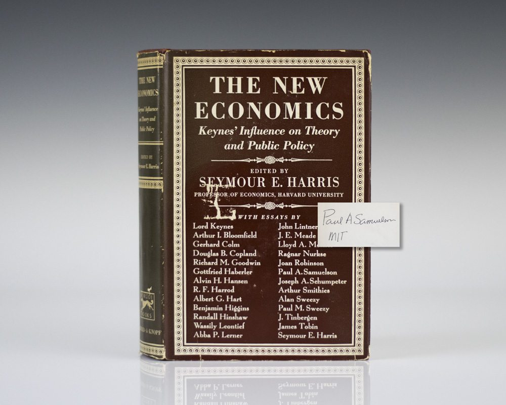The New Economics: Keynes' Influence on Theory and Public Policy.
