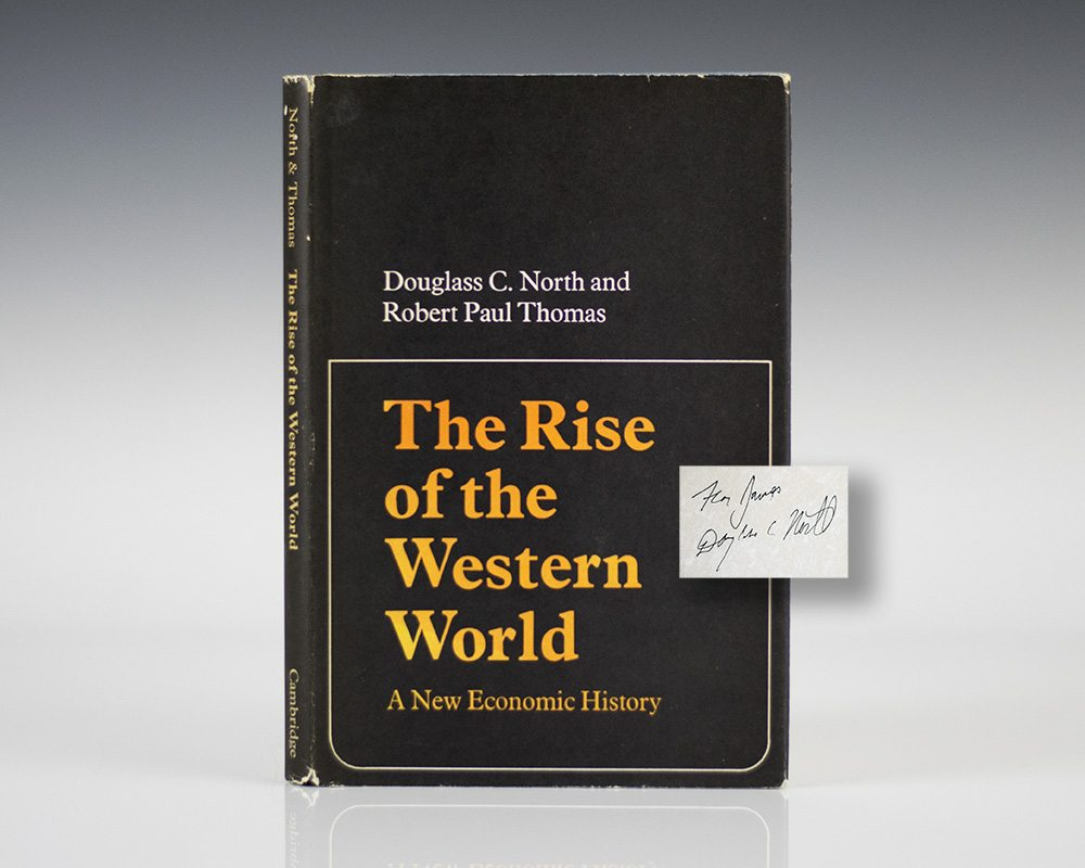 The Rise of the Western World: A New Economic History.