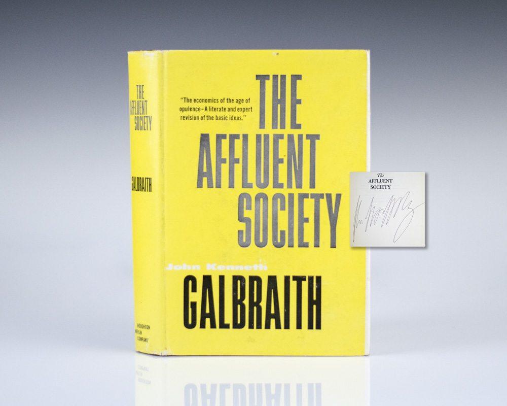 The Affluent Society.