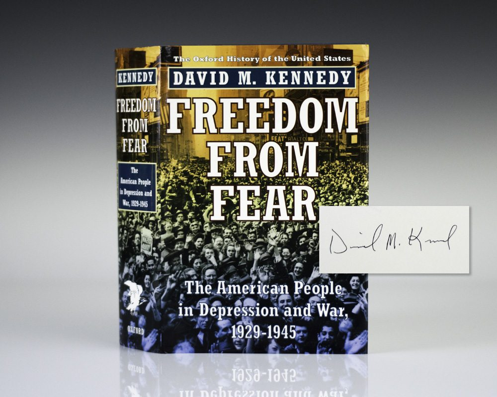 Freedom from Fear: The American People in Depression and War, 1929-1945.