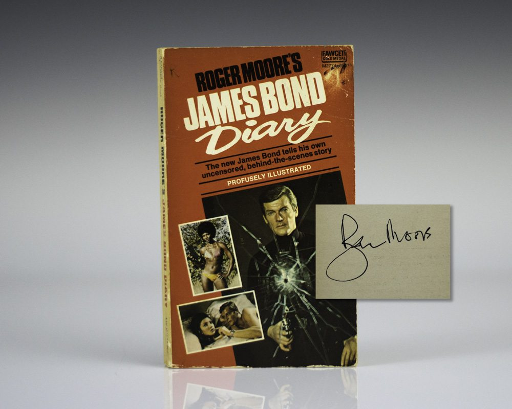 Roger Moore's James Bond Diary.