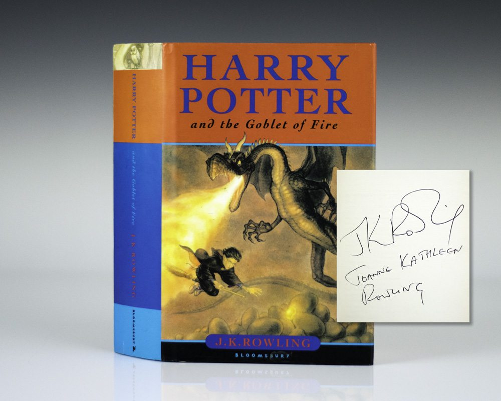 Harry Potter and the Goblet of Fire.