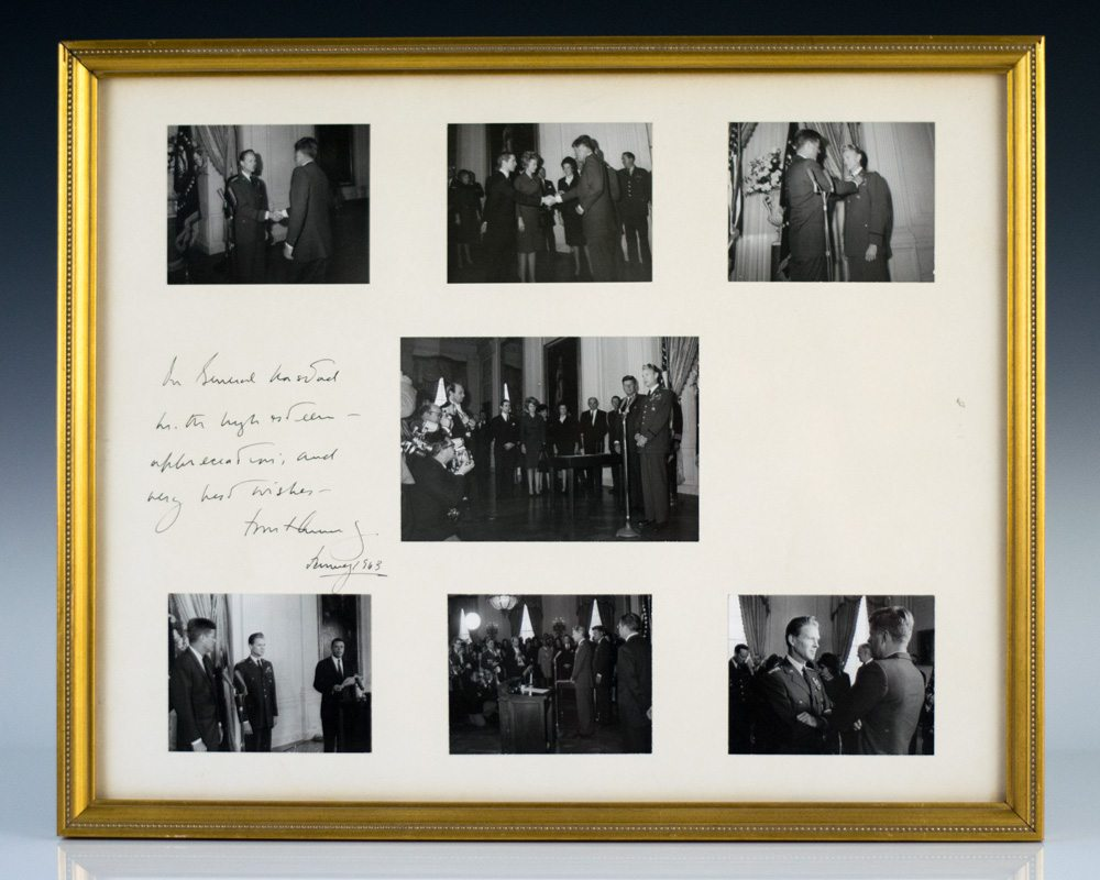 Photographs Inscribed by John F. Kennedy.