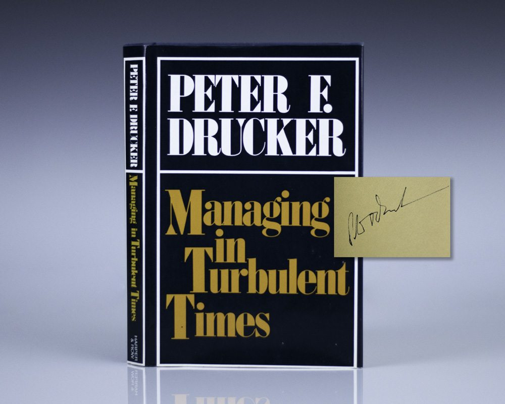 Managing in Turbulent Times.