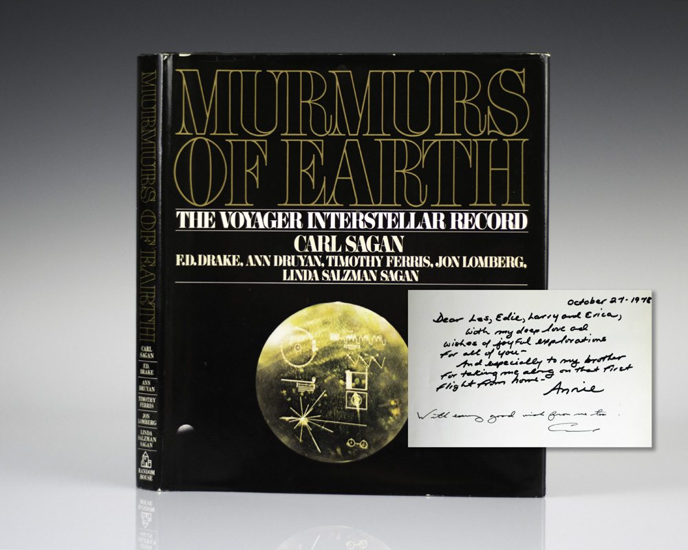 Murmurs of Earth: The Voyager Interstellar Record.