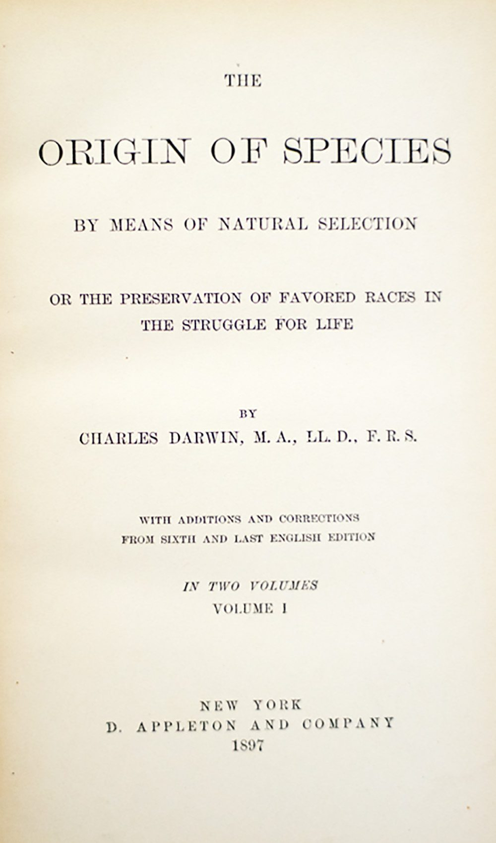 The Works of Charles Darwin.