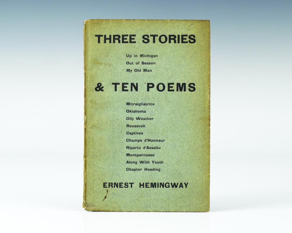 Three Stories & Ten Poems.