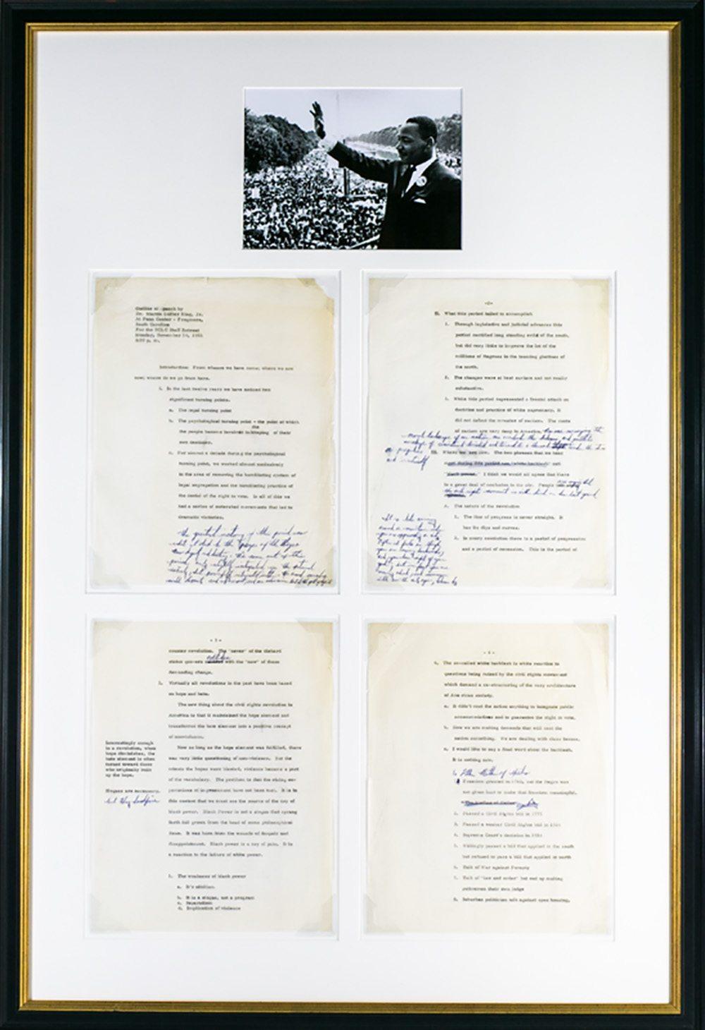 martin luther king signed speech speech of martin luther king jr 20067