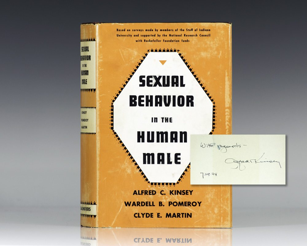 Sexual Behavior in the Human Male.