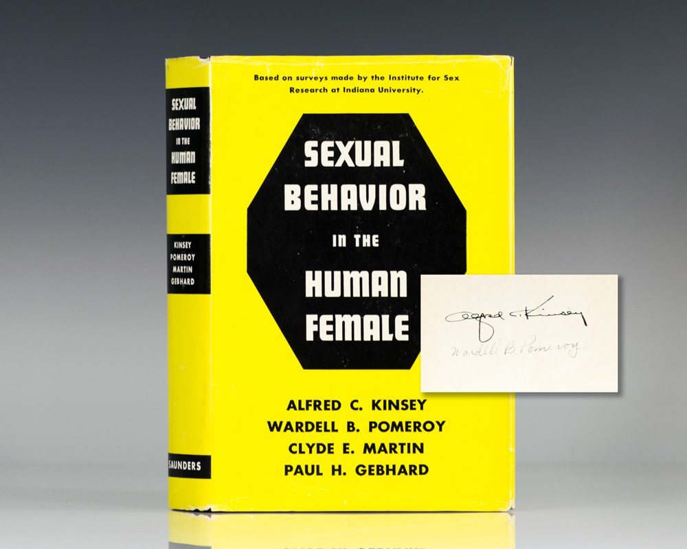 Sexual Behavior in the Human Female.