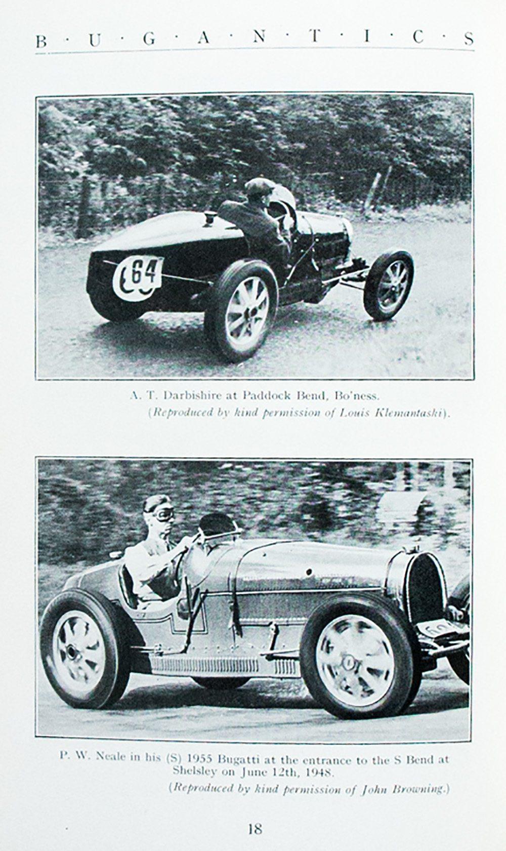 Bugantics: Bugatti Owner's Club.