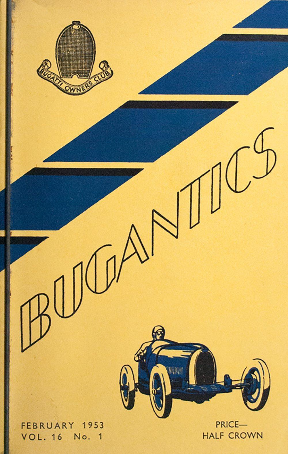 Bugantics and Bugatti Ephemera.