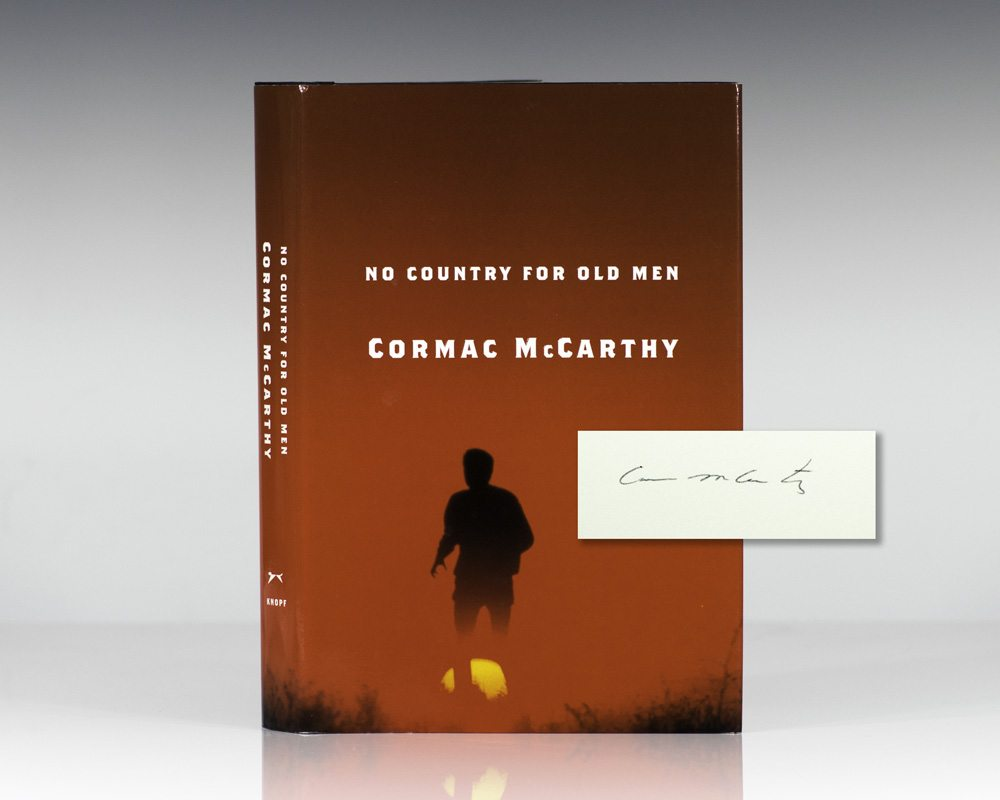cormac mccarthy no country for old men essay No country for old men in the novel no country for old men, written by cormac mccarthy, a perversion of the american dream is presented as the relinquishment of powerpower is defined as the influence one has over people and in mccarthy's novel he demonstrates three ways to posses this: money, authority, and the ability to strike.
