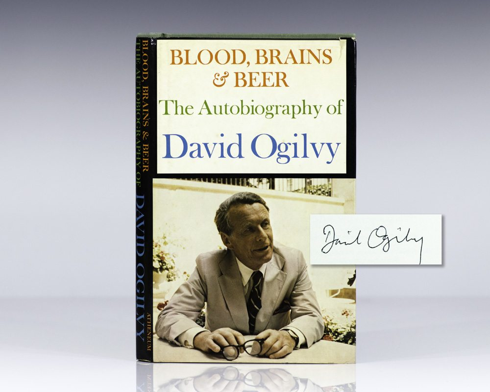 Blood, Brains & Beer: The Autobiography of David Ogilvy.