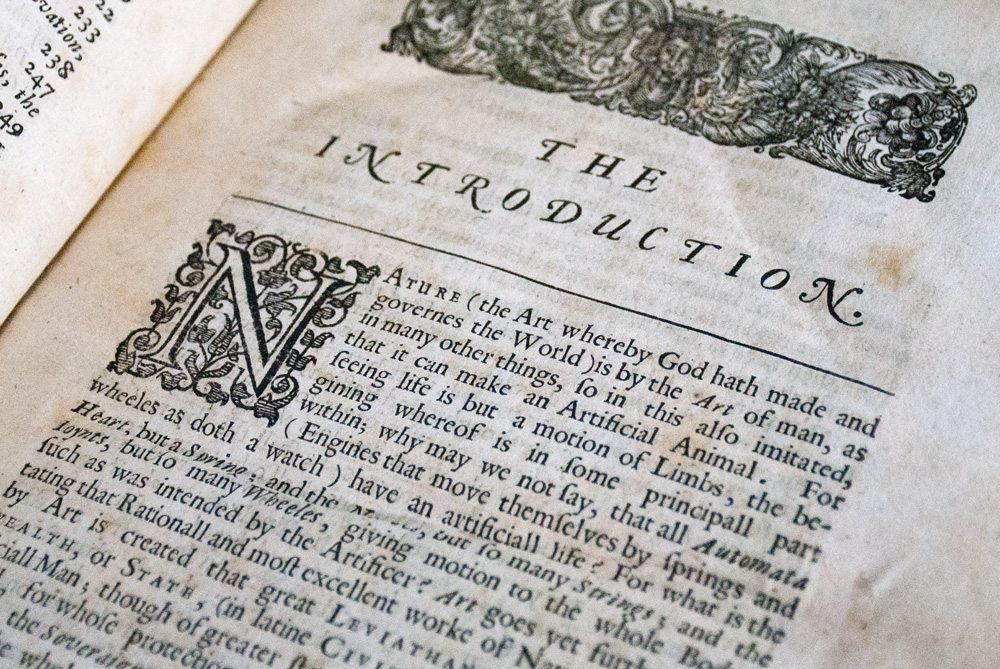 a biography and life work of thomas hobbes in the book leviathan Leviathan part 1: man thomas hobbes  —the name 'leviathan' comes from the book of job, chapter 41 see hobbes's chapter 28, last  life is just a motion .