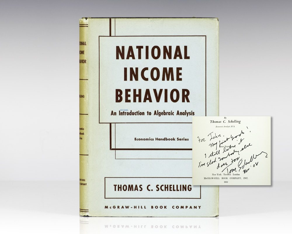 National Income Behavior: An Introduction to Algebraic Analysis.