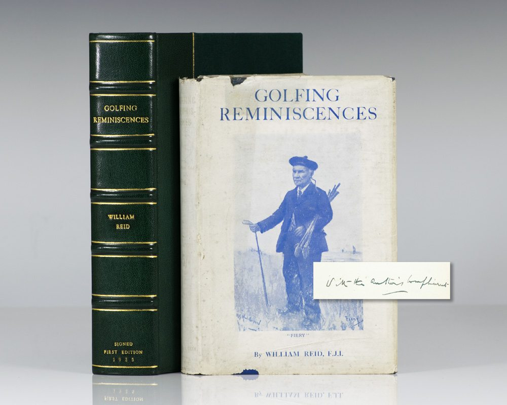 Golfing Reminiscences: The Growth of the Game, 1887-1925.