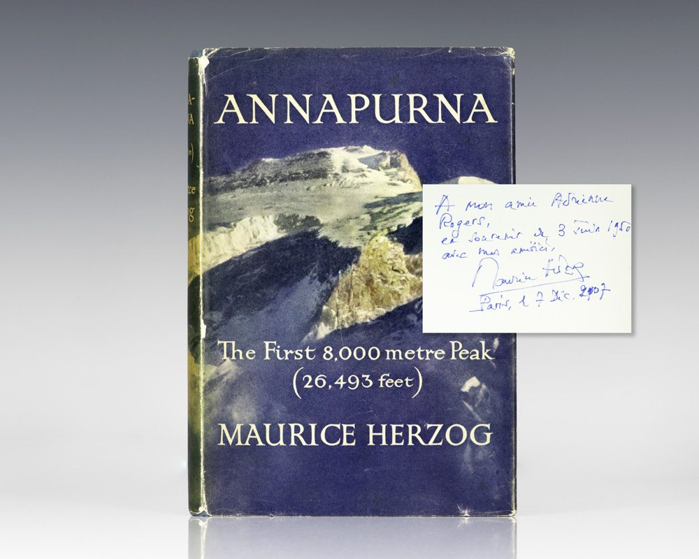 Annapurna: The First 8,000 Metre Peak (26,493 Feet).