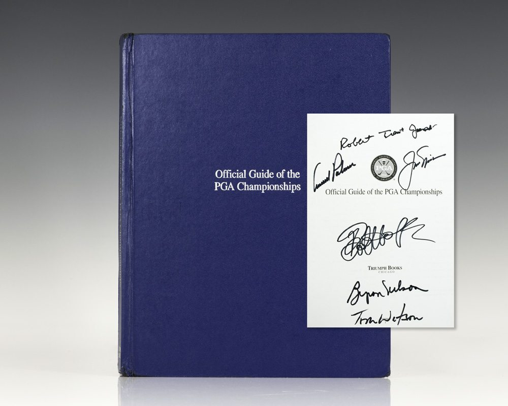 The Official Guide of the PGA Championships.