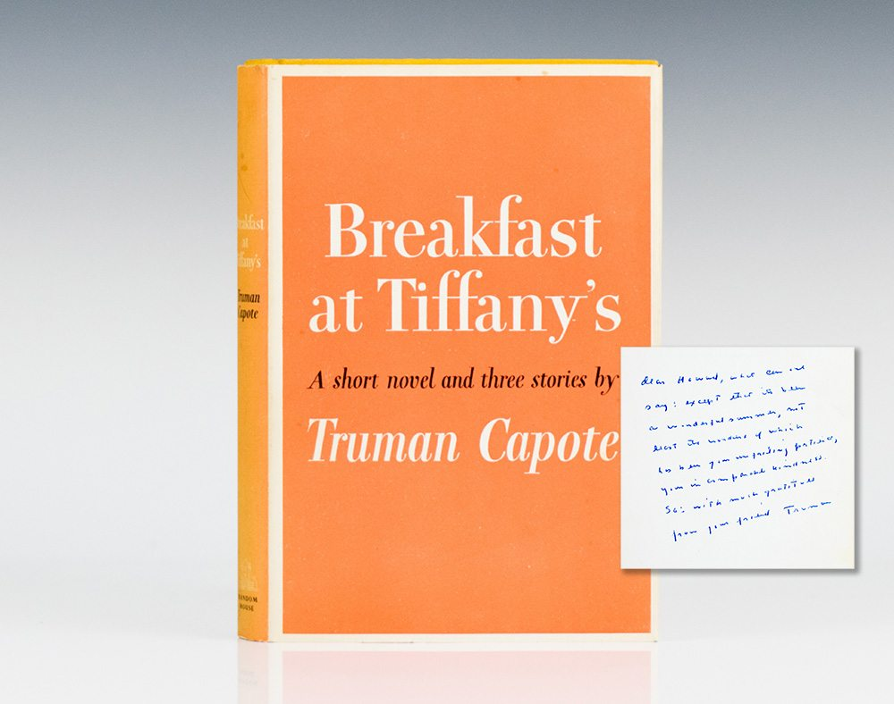 an analysis of friendship in breakfast at tiffanys by truman capote