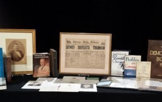In the News – Local rare bookseller showcases inauguration memorabilia