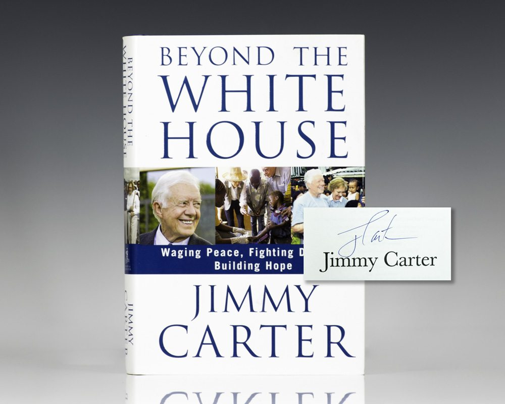 Beyond the White House. Waging Peace, Fighting Disease, Building Hope.