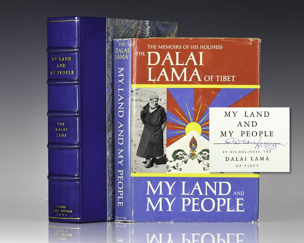 My Land and My People: The Memoirs of His Holiness The Dalai Lama.