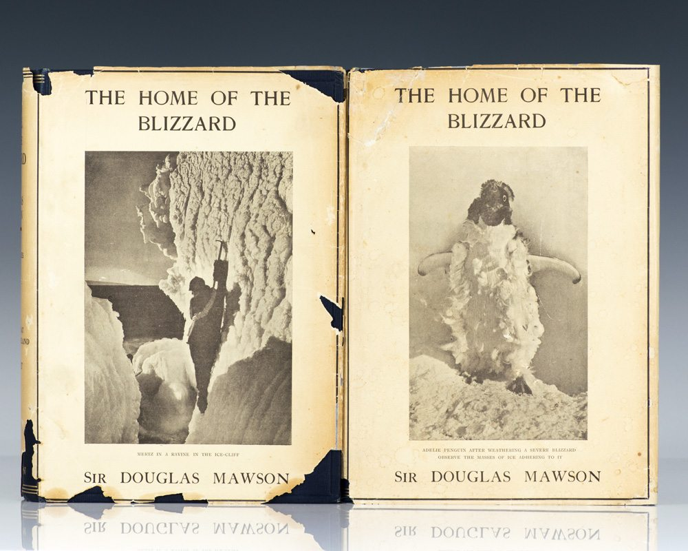 The Home Of The Blizzard: Being the Story of the Australasian Antarctic Expedition, 1911–1914.