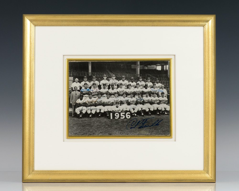 Brooklyn Dodgers Signed Photograph.
