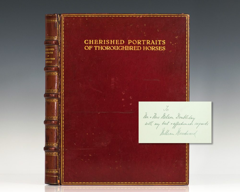 Cherished Portraits of Thoroughbred Horses: From the Collection of William Woodward. With Notes by W.S. Vosburgh.