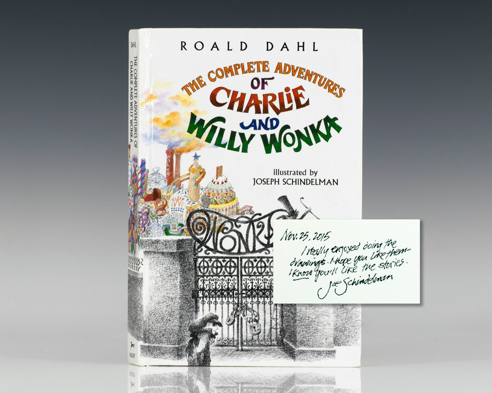 The Complete Adventures of Charlie and Willy Wonka.