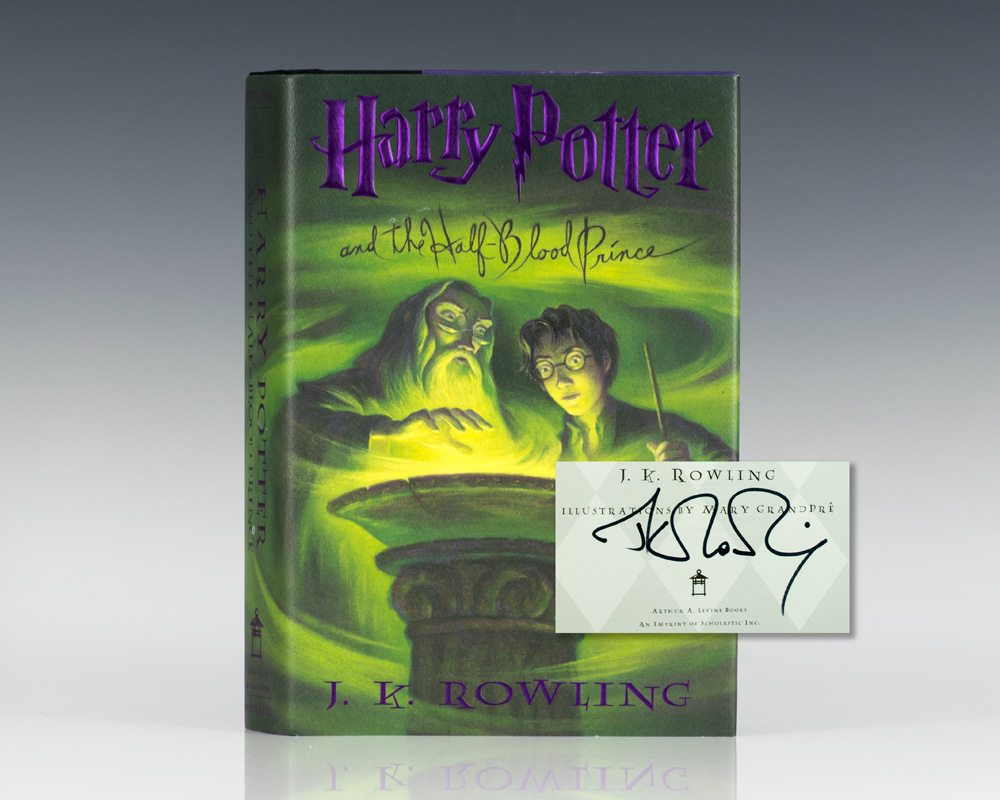 harry potter and the halfblood prince jk rowling first