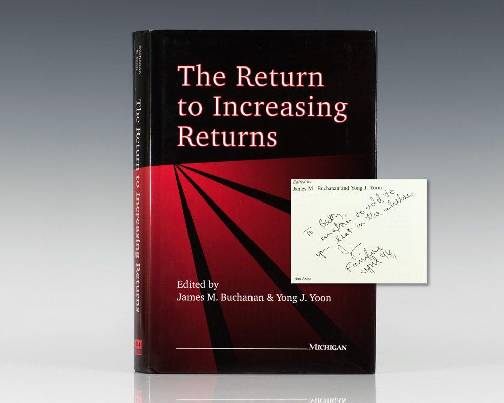 The Return to Increasing Returns.