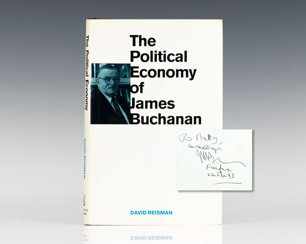 The Political Economy of James Buchanan.