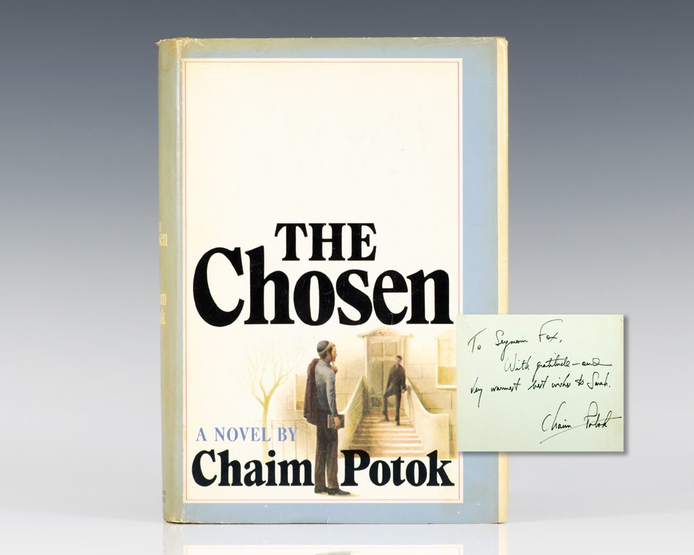 the chosen by chaim potok The chosen homework help questions regarding my teacher's assignment on chaim potok's the chosen, i have no idea on what he means by this assignment is not as difficult as the professor's .