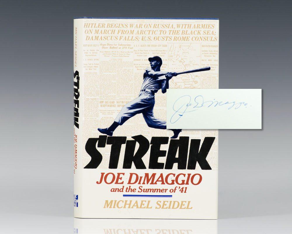 Streak: Joe DiMaggio and the Summer of '41.