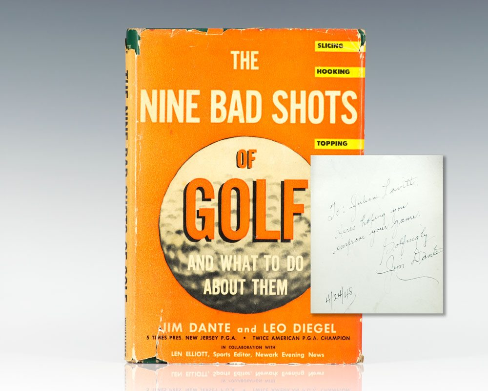 Nine Bad Shots of Golf and What To Do About Them.