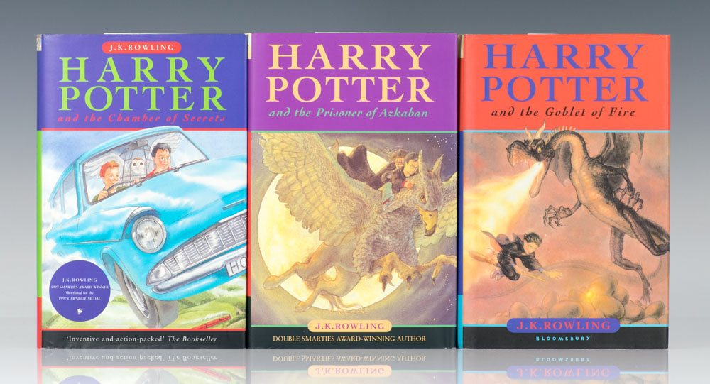Harry potter chamber secrets first edition abebooks.