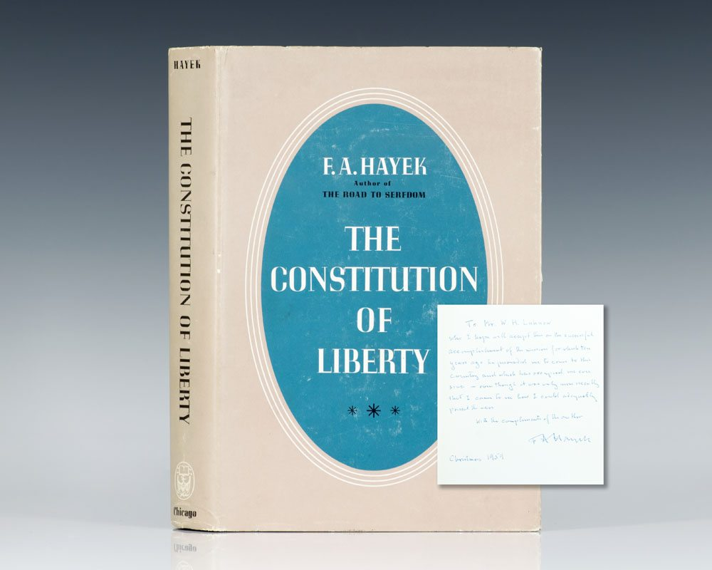 The Constitution of Liberty.