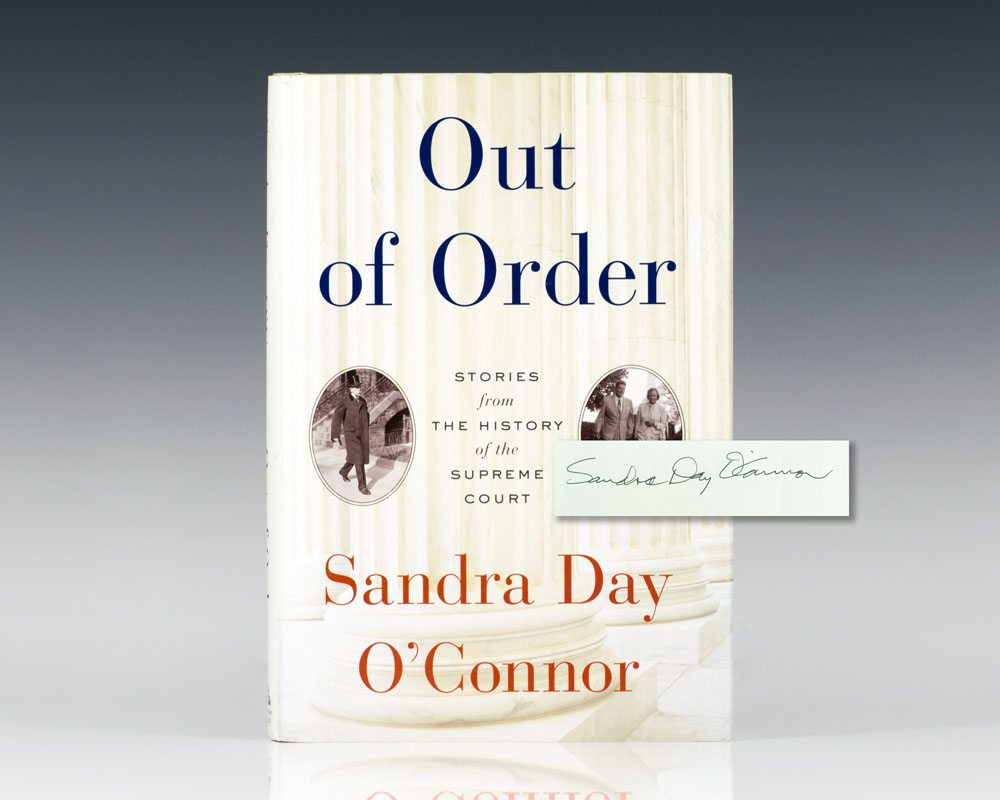 Out of Order: Stories from the History of the Supreme Court.