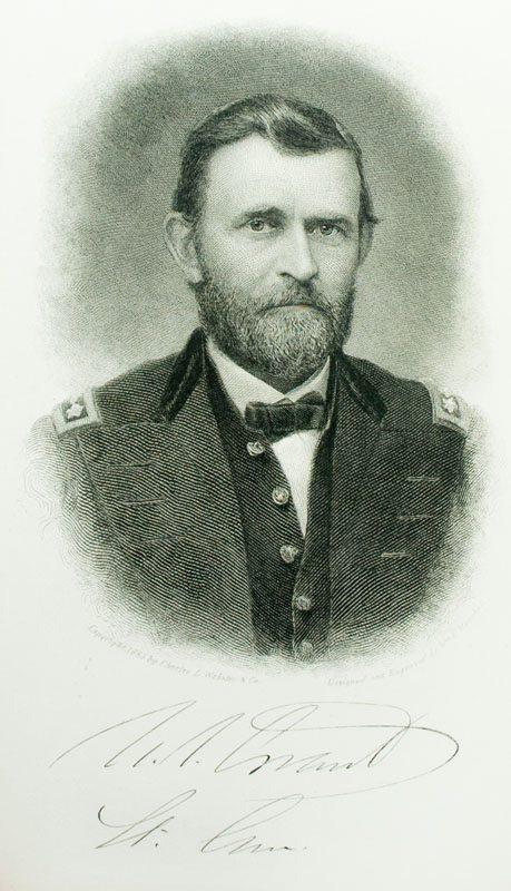 Personal Memoirs of U.S. Grant.